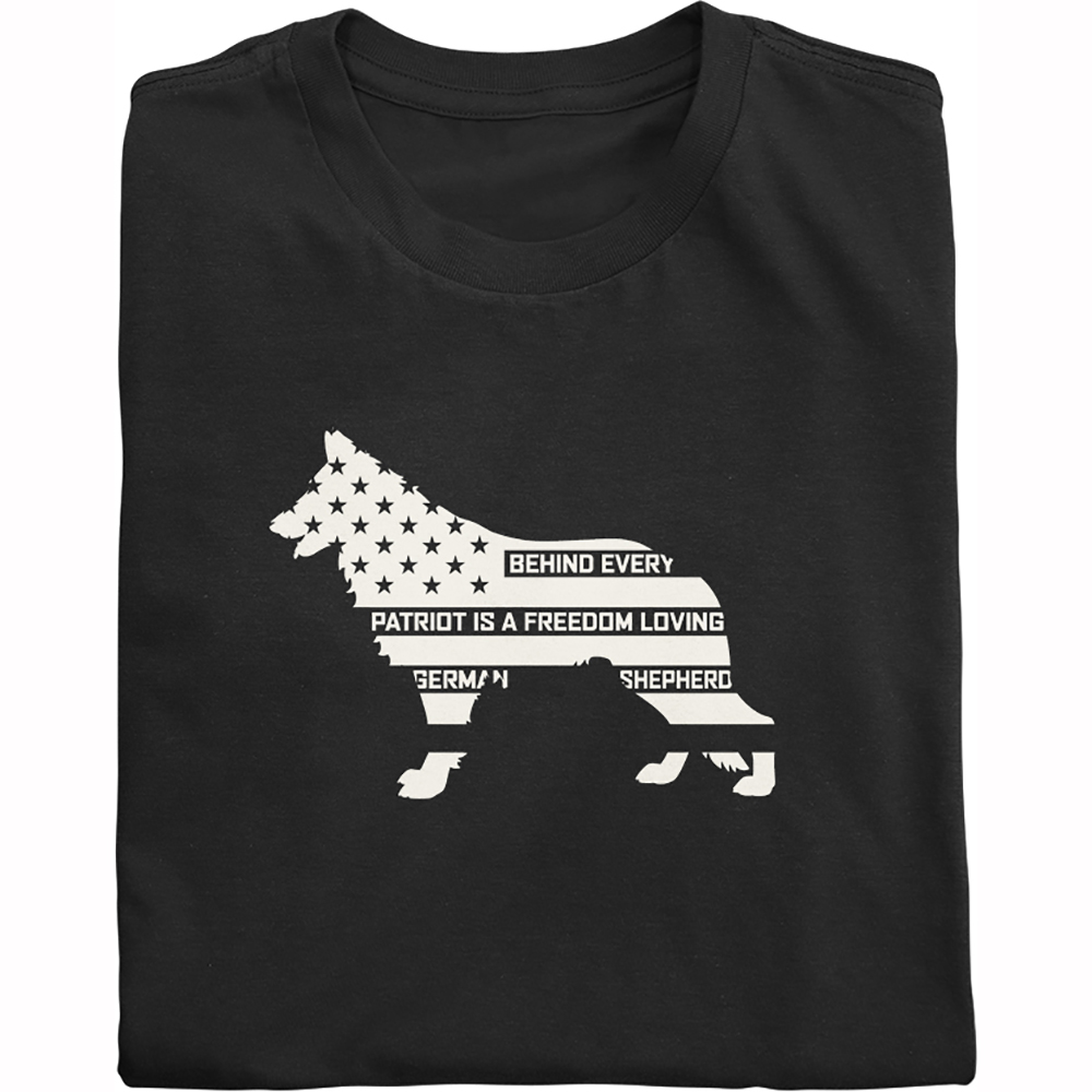 German Shepherd Patriot Shirt