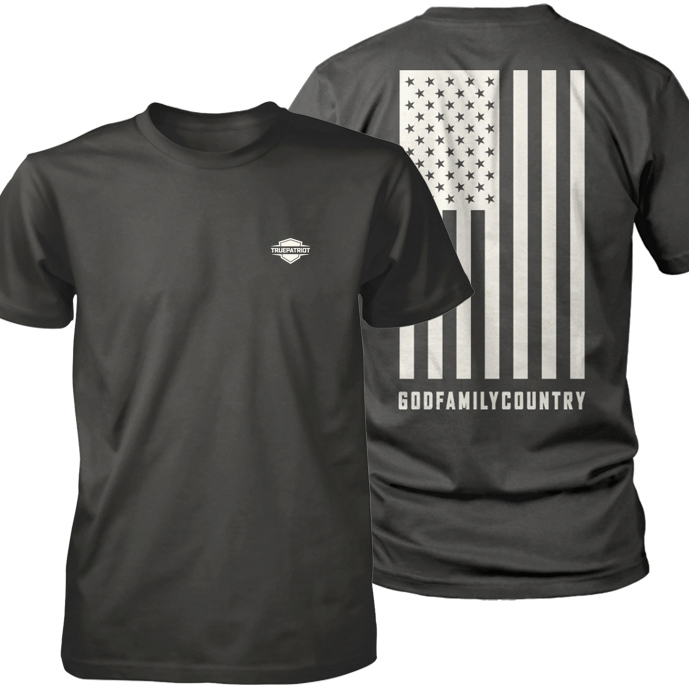God Family Country (in white) combined shirt