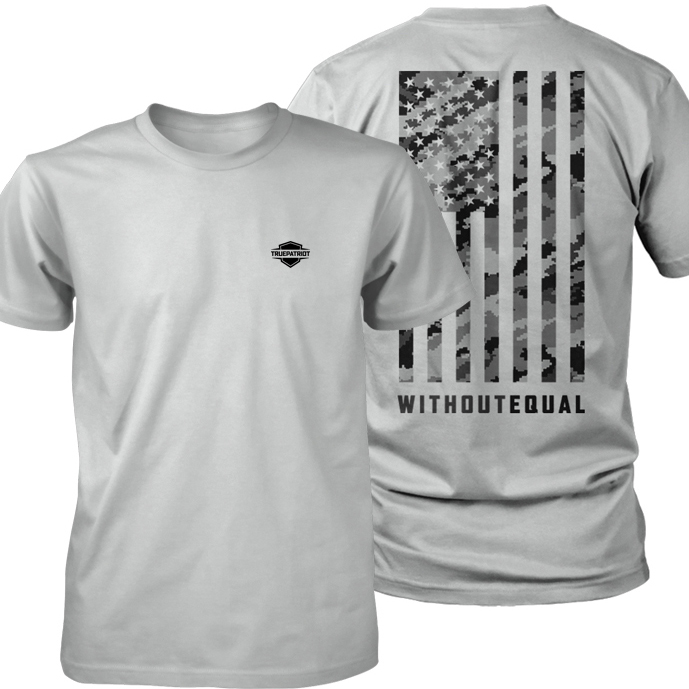 Without Equal (silver digital camo) combined shirt